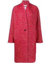IRO Irinia Blend Wool Coat - Red