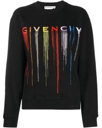 Givenchy ロゴ セーター - ブラック