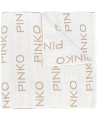 Pinko ジャカードロゴ スカーフ - マルチカラー