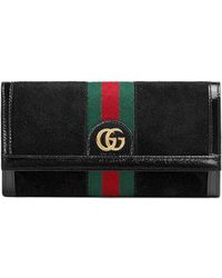 Gucci Ophidia Continentale Portemonnee - Zwart