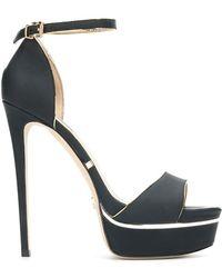 Gianni Renzi - Ankle Strap Platform Sandals - Lyst