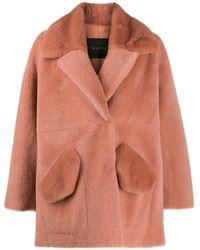 Blancha オーバーサイズ コート - ピンク