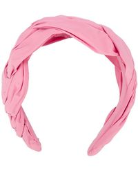 RED Valentino Twisted Headband - Pink