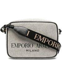 Emporio Armani ロゴ ショルダーバッグ - マルチカラー
