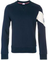 Moncler Gamme Bleu - Chevron Detail Sweatshirt - Lyst