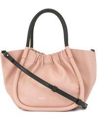 Proenza Schouler - Kleine Handtasche mit Raffung - Lyst