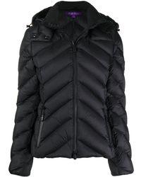 Ralph Lauren Collection Aden パデッドジャケット - ブラック