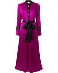 LAYEUR - メタリック ドレス - Lyst