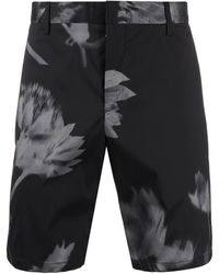 Paul Smith - Floral Printed Tailored Shorts - Lyst