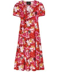 Marc Jacobs X M.cousins The Love Dress - Red