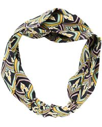 Ca&Lou - Miami Printed Head Band - Lyst