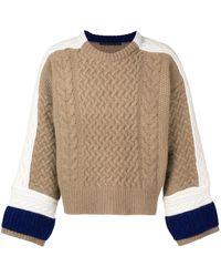 Haider Ackermann Colour-block Sweater - Multicolour