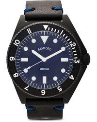 Bamford Watch Department Bamford Mayfair 40mm 腕時計 - ブルー