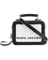 Marc Jacobs Bandolera The Box 20 - Blanco