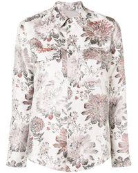 Reality Studio - Floral Print Shirt - Lyst