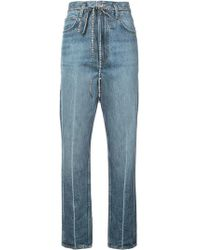 Proenza Schouler - Pswl Cropped Flare Jeans - Lyst