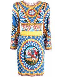 Dolce & Gabbana - グラフィック ワンピース - Lyst