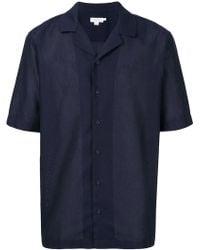 Sunspel - Camp Collar Short Sleeve Shirt - Lyst