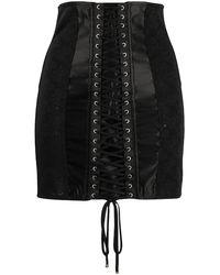 Dolce & Gabbana - Jupe à détail de laçage - Lyst