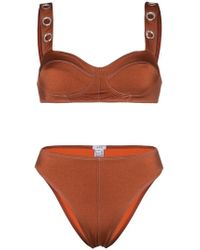 ACK - Ana Due Grommet Bikini - Lyst