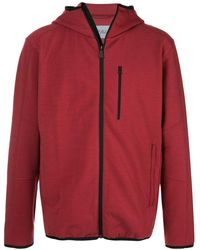 Aztech Mountain Chair Mountain Hoodie - Red