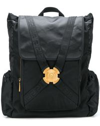 7e7b605b32 Versace Patches Backpack in Blue for Men - Lyst