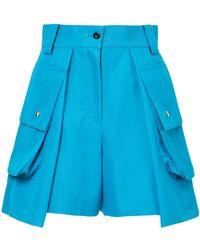 Sacai - Cargo-Shorts mit hohem Bund - Lyst