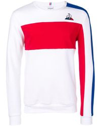 Le Coq Sportif - Embroidered Logo Sweatshirt - Lyst