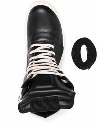 Rick Owens Geobasket ハイカットスニーカー - ブラック