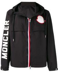 7dc63e584 Lyst - Moncler 'Freddie' Padded Jacket in Black for Men