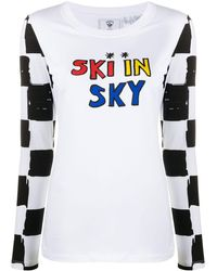 Rossignol Ski In Sky Print Top - White