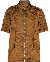 1017 ALYX 9SM Рубашка На Молнии - Коричневый