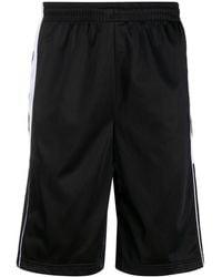 Kappa Shorts sportivi con banda laterale - Nero