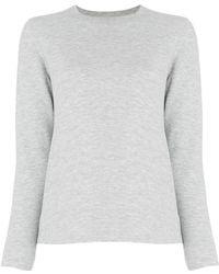 Officine Generale Crew Neck Sweatshirt - Grey