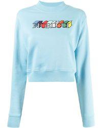 Fiorucci ロゴ スウェットシャツ - ブルー