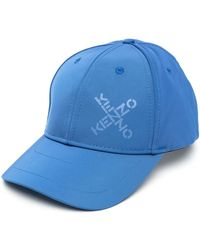 KENZO Бейсболка С Логотипом - Синий