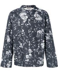McQ - Floral Print Sweatshirt - Lyst