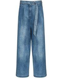Tibi Stella Wide-leg Jeans - Blue