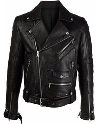 Balmain Байкерская Куртка - Черный