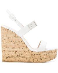 Giuseppe Zanotti - Wedge Platform Sandals - Lyst