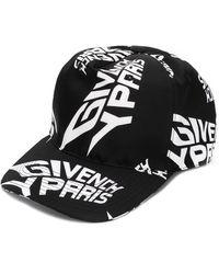 Givenchy Honkbalpet Met Logo - Zwart