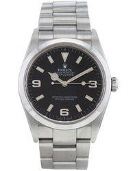 Rolex Наручные Часы Explorer Pre-owned 36 Мм 2005-го Года - Черный