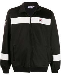 Fila Zip up striped panel jacket - Noir