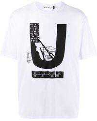 Undercover Graphic-print Crew-neck T-shirt - Multicolour