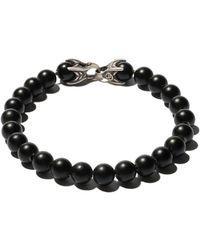 David Yurman Spiritual Beads Zwarte Onyx Armband
