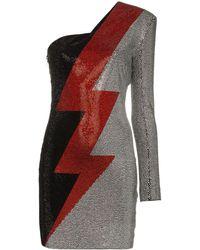 Balmain - メタリックドレス - Lyst