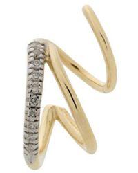 Maria Black - 14kt Yellow Gold Fury Diamond Twirl Earring - Lyst