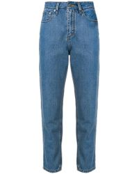 Societe Anonyme - 70s Cropped Jeans - Lyst