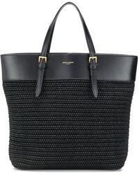 Saint Laurent Bolso shopper Boucle mediano - Negro