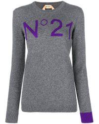 N°21 - Cashmere Sweatshirt - Lyst